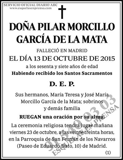 Pilar Morcillo García de la Mata